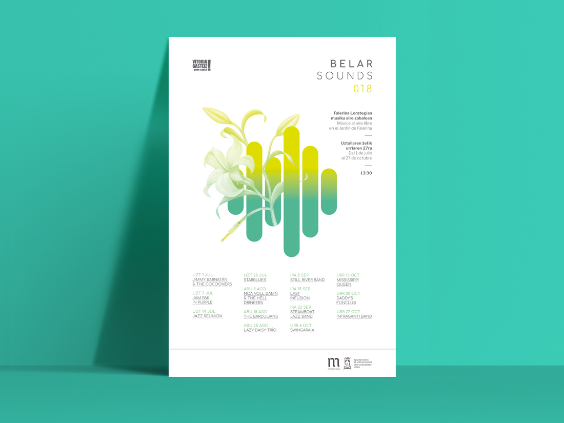 Belar Sounds cartel 2018