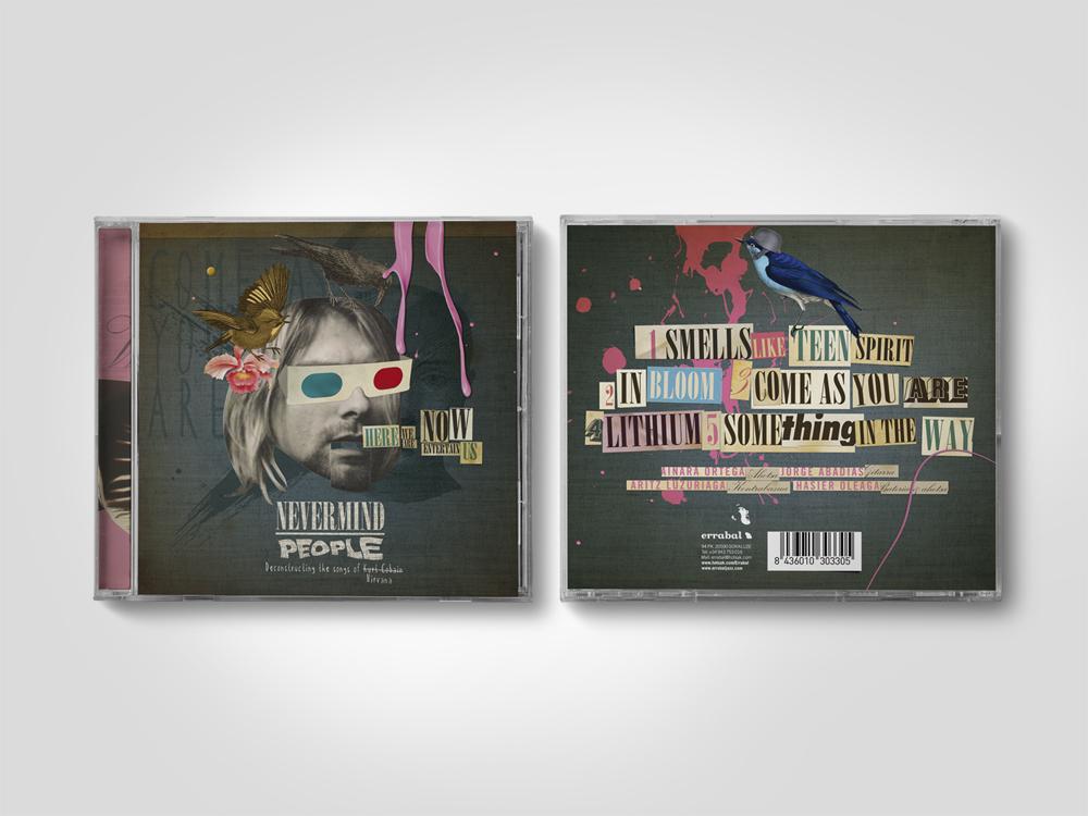 Nevermind People Errabal Jazz portada CD