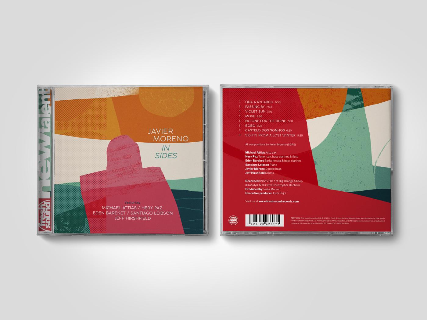Javier Moreno CD portada y contraportada